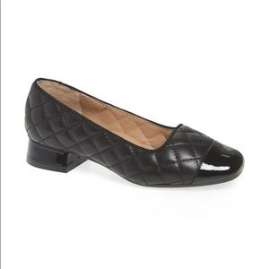 Bettye Muller Greta Quilted Leather Pumps